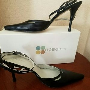 d3617fa490c Women s Black Bcbg Ankle Strap Heels on Poshmark